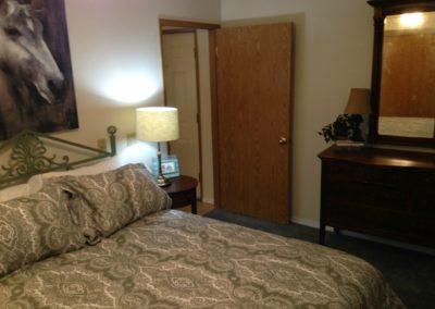 country loft bedroom