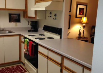 three bedroom kitchen 2