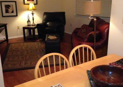 three bedroom living dining